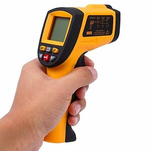 Autvivi Non contact Digital Laser Infrared Thermometer Temperature Gun Gm900 50