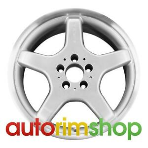 Mercedes Clk430 17 Factory Oem Amg Front Wheel Rim Machined With Silver