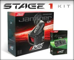 Edge 19003 Ford 11 16 6 7l Stage 1 Kit Evolution Cs2 Jammer Cai Cold Air Intake