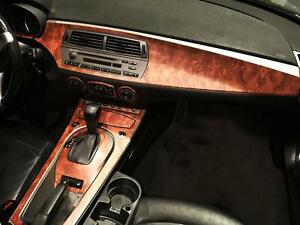 Rdash Wood Grain Dash Kit For Dodge Durango Slt Rt 2001 2003 honey Burlwood