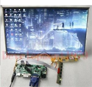 New 16 0 Hd Lcd Tft Screen Ltn160at01 Hdmi dvi vga audio M nt68676 2 O