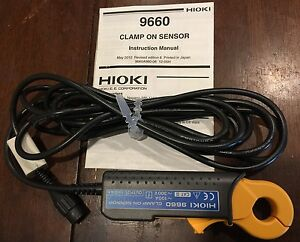 Hioki 9660 100 Amp Ct 40hz To 5khz Free Shipping Usa