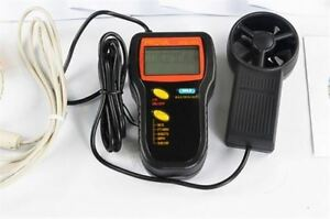 Air Temperature Measurement Interface With Pc Rs 232c Prova Avm 305 Anemometer