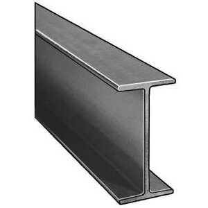 Dynaform 871180 I beam isofr gray 6x3 In 1 4 In Th 10 Ft