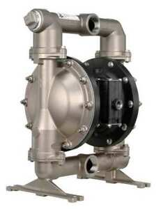 Aro Pd15a ass stt Double Diaphragm Pump Stainless Steel Air Operated Ptfe