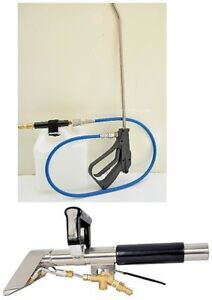 Carpet Cleaning Stair Tool Wand Inline Sprayer Combo