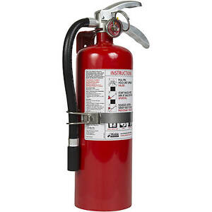 Kidde Pro Plus 5 Fire Extinguisher Ul Rated 3a 40bc Red 10lb New Red Easy To Use