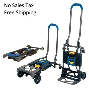 Cosco Shifter Multi position Folding Hand Truck And Cart 300lb Top Quality Blue