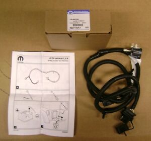 2007 2018 Jeep Wrangler Jk 4 Way Trailer Tow Hitch Wiring Harness
