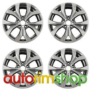 Honda Civic 2012 2013 17 Factory Oem Wheels Rims Set