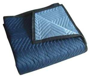 Quilted Moving Pad l72xw80in blue pk12