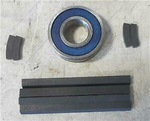 1968 89 Ford Models New Smog Air Pump Rebuild Kit With Bearing And Carbon Strips