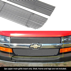 For 2003 2016 Chevy Express Explorer Conversion Van Billet Grille Insert