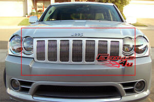 For 06 08 Jeep Grand Cherokee Billet Grille Insert
