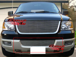 Fits 2003 2006 Ford Expedition Lower Bumper Billet Grille Insert
