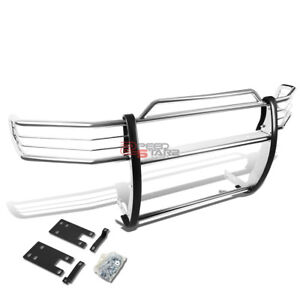 For 99 01 Dodge Ram 1500 Sport Stainless Steel Front Bumper Brush Grille Guard