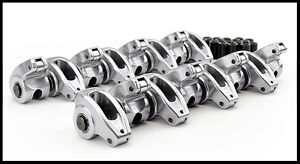 Sbc Chevy Comp Cams High Energy Aluminum Roller Rockers 1 5 3 8 s 17001 16