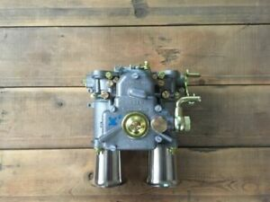 45 Dcoe 152 Genuine Weber Twin Carburettor With Inlet Funnel Alfa Romeo Etc