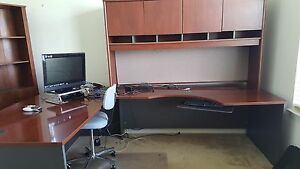 Home Office Desk And Credenza Great Condition