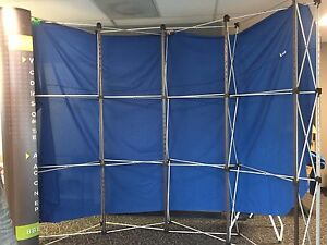 skyline Metro Curved Trade Show Booth Display 8ft X 7ft 7 In
