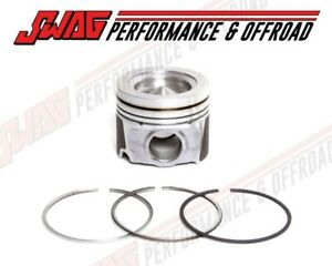 08 10 Ford 6 4 6 4l Powerstroke Diesel Mahle Standard Piston Oem Ford Ring Set