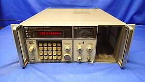 Hp 8660c Synthesized Signal Generator W 86632b Modulation Section For Repair