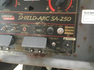 Lincoln Sa 250 Engine Drive Welder used K1283 8