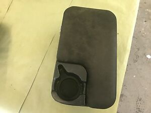 1998 2004 Ford Ranger Dark Grey Black Center Console Assembly Oem Cup Holder 99