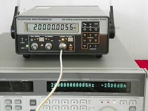 Marconi Instruments 26 5 Ghz Microwave Counter 2442 P n 52442 302x