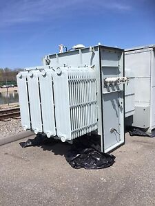 Ge Prolec 2000 Kva 13200 Primary 480y 277 Secondary Substation Transformer Fr3