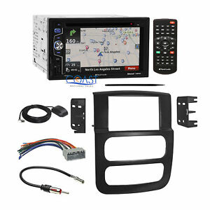 Planet Audio Navigation Car Stereo Dash Kit Harness For 02 05 Dodge Ram Truck