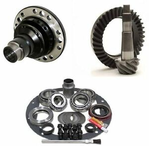 Jeep Wrangler Tj Dana 30 4 11 Ring And Pinion Grip Pro Posi Gear Pkg