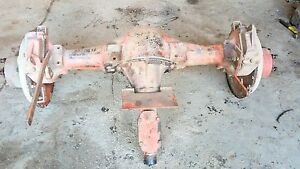 Allis Chalmers Unstyled Wc Tractor Rearend Part Complete Brake Levers Wc Ac