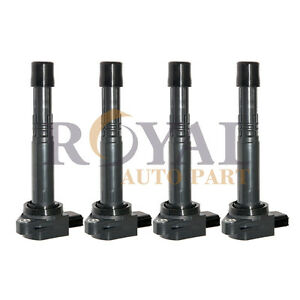 Set Of 4 Ignition Coil On Plug Pack For 2003 2007 Honda Accord 2 4l I4 Uf311