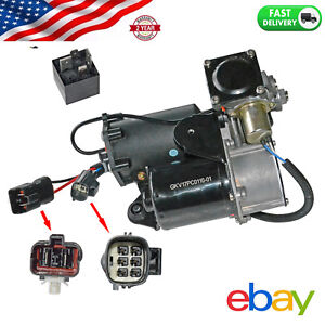 Air Suspension Compressor Pump For Range Rover Lr3 2005 2009 Lr023964