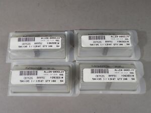 Lot Of 400 Allen Bradley 1 4 Watt Carbon Comp Resistors 75000