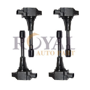 4pc Pack Ignition Coil For Nissan Altima Sentra Versa Infiniti Fx50 Uf549