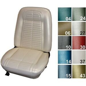 1967 Pontiac Firebird Standard Bucket Seat Covers Pui