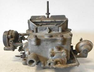 1958 Edsel Autolite 4100 Used Carburetor 600cfm 4bbl Stamp Edt 84c