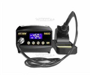 220v Soldering Station Lcd Iron Station Unleaded Solder At980d Anti static Xa