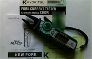Kyoritsu 2300r Digital Fork Current Tester True Rms Meter Brand New Gauge
