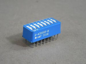 Lot Of 50 Amp Dip Switch 8 Position 2 435668 8