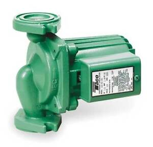 Hot Water Circulator Pump 1 8hp ifc Taco 009 f5 ifc