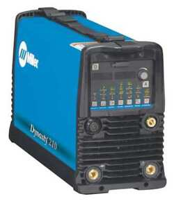 Tig Welder Dynasty 210 Series 120 To 480vac Miller Electric 907686
