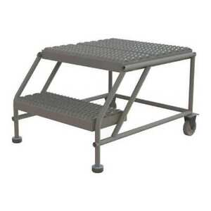 Mobile Work Platform 2 Step Steel 20 Tri arc Wlwp022424