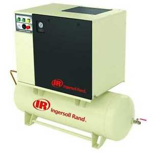 Ingersoll rand Up6 7 5 125 80 230 1 Rotary Screw Air Compressor 7 5 Hp 1 Ph