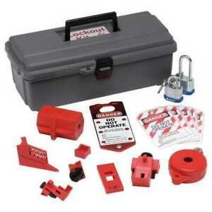 Brady 65289 Portable Lockout Kit electrical valve