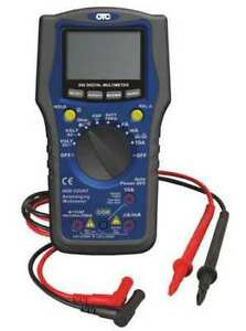 Otc 3940 Digital Multimeter lcd 750 Ac Volts G2016239