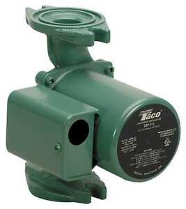 Hot Water Circulator Pump 1 25 Hp Ifc Taco 007 f5 7ifc