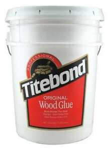 Wood Glue 5 Gal yellow Titebond 5067